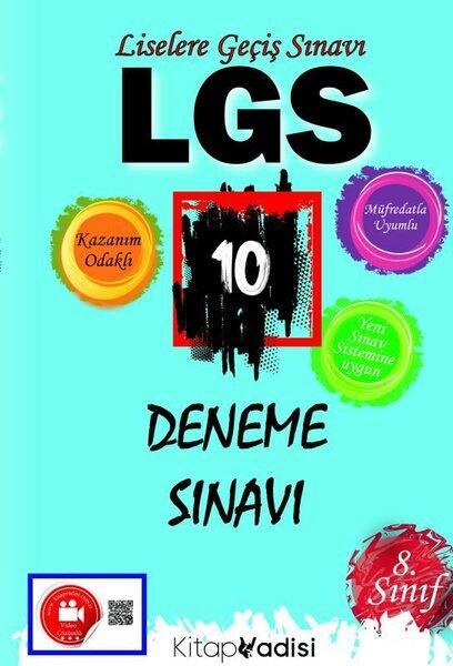Kitap Vadisi Yayınları LGS 10 Deneme Sınavı