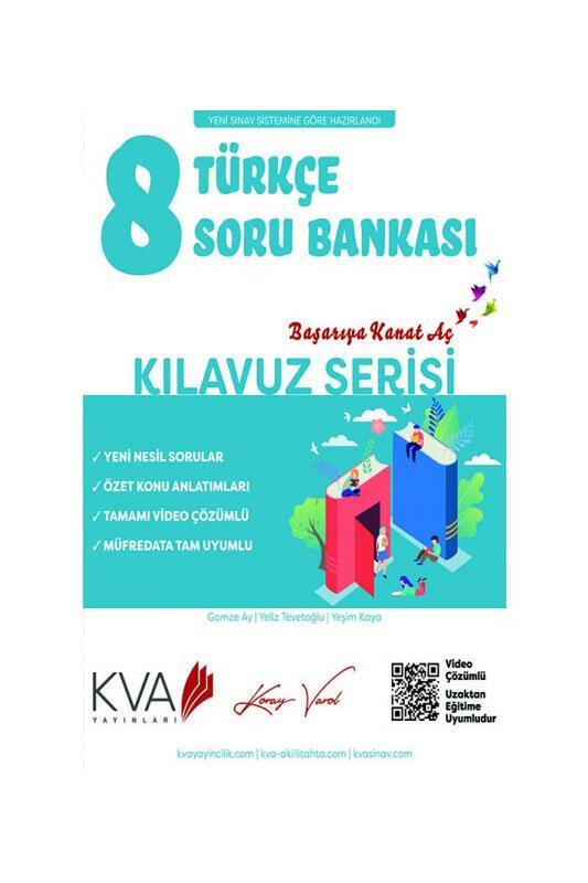 Koray Varol Akademi 8. Sınıf Türkçe Kılavuz Soru Bankası