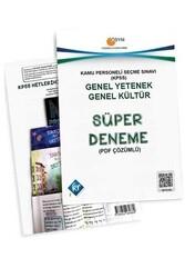 KR Akademi - KR Akademi 2020 KPSS Genel Yetenek Genel Kültür PDF Çözümlü Süper Deneme