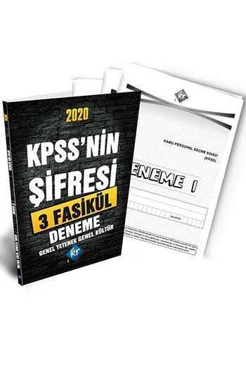 KR Akademi 2020 KPSS'nin Şifresi Genel Yetenek Genel Kültür 3 Deneme