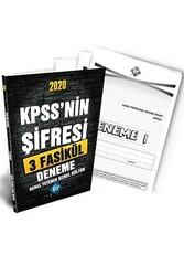 KR Akademi - KR Akademi 2020 KPSS'nin Şifresi Genel Yetenek Genel Kültür 3 Deneme