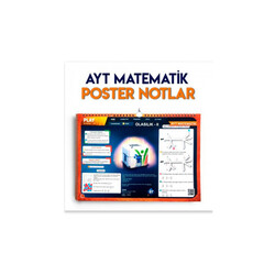 KR Akademi - KR Akademi AYT Matematik Poster Notlar