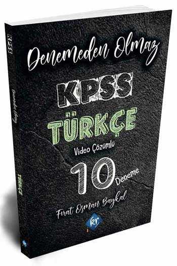 KR Akademi KPSS Türkçe Denemeden Olmaz Video Çözümlü 10 Deneme