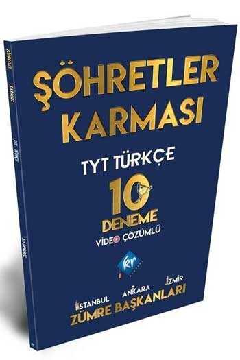 KR Akademi TYT Türkçe Şöhretler Karması Video Çözümlü 10 Deneme
