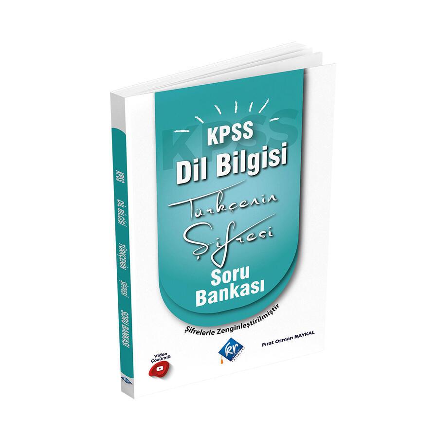 KR Akademi Yayınları 2022 KPSS Türkçenin Şifresi Dil Bilgisi Soru Bankası