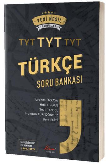KRN Yayınları TYT Türkçe Soru Bankası
