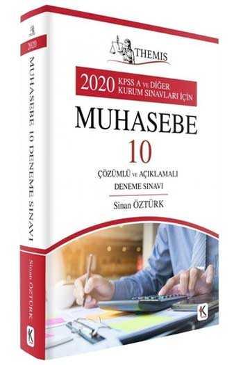 Kuram Kitap 2020 KPSS A Grubu THEMIS Muhasebe Çözümlü 10 Deneme