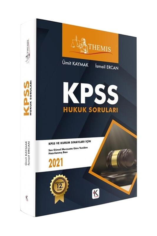 Kuram Kitap 2021 KPSS THEMİS Hukuk Soruları