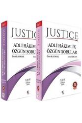 Kuram Kitap - Kuram Kitap JUSTİCE Adli Hakimlik Özgün Sorular 2 Cilt Ağustos 2020