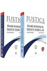 Kuram Kitap - Kuram Kitap Justice İdari Hakimlik Özgün Sorular 2 Cilt Ağustos 2020