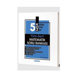 Kurmay Okul Yayınları - Kurmay Okul Yayınları 5. Sınıf Matematik KOZ Tatlı Sert Soru Bankası