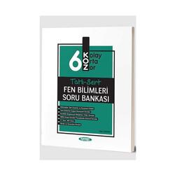 Kurmay Okul Yayınları - Kurmay Okul Yayınları 6. Sınıf Fen Bilimleri KOZ Tatlı Sert Soru Bankası