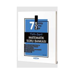 Kurmay Okul Yayınları - Kurmay Okul Yayınları 7. Sınıf Matematik KOZ Tatlı Sert Soru Bankası