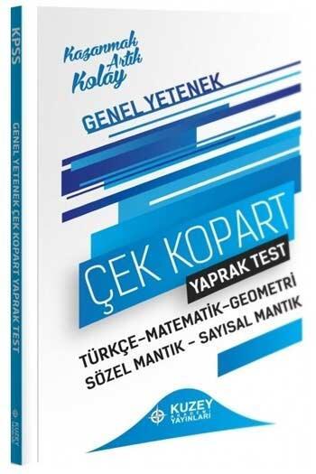 Kuzey Akademi Yayınları 2021 KPSS Genel Yetenek Yaprak Test Çek Kopart