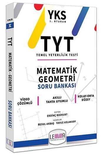LEMMA Yayınları 2020 TYT Matematik Geometri Soru Bankası