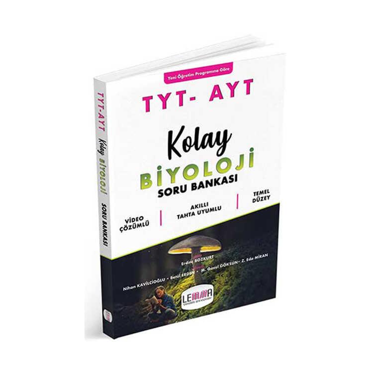 LEMMA Yayınları TYT AYT Kolay Biyoloji Soru Bankası