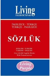 Living English Dictionary - Living Purple İngilizce-Türkçe Türkçe-İngilizce Sözlük Living English Dictionary
