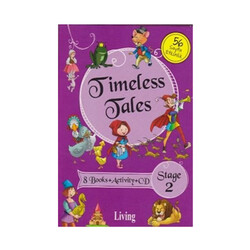 Living English Dictionary - Living English Dictionary Timeless Tales 8 Books Activity CD Stage 2