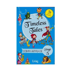 Living English Dictionary - Living English Dictionary Timeless Tales 8 Books Activity CD Stage 5