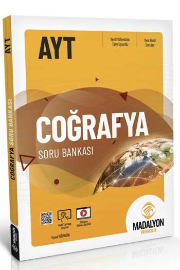 Madalyon Yayıncılık AYT Coğrafya Soru Bankası