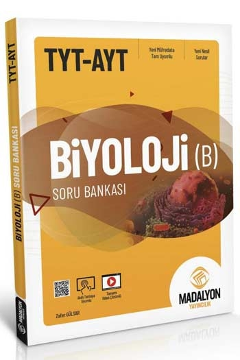 Madalyon Yayıncılık TYT AYT Biyoloji-B Soru Bankası
