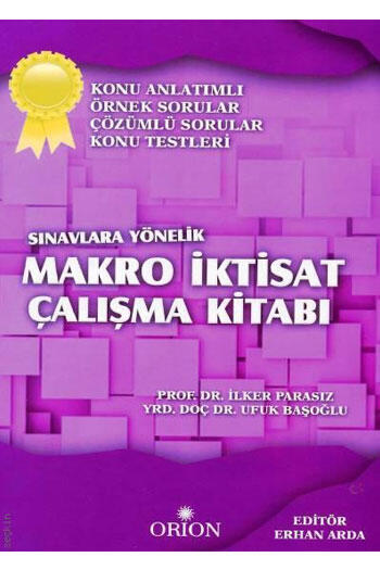 Makro İktisat Çalışma Kitabı Orion Yayınları