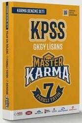 Master Karma - Master Karma KPSS Genel Yetenek Genel Kültür 7 Farklı Yayın Çözümlü Deneme Seti