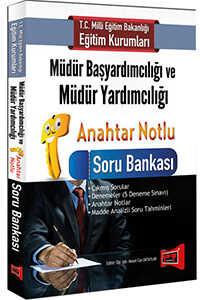 MEB Müdür Başyardımcılığı ve Müdür Yardımcılığı Anahtar Notlu Soru Bankası Yargı Yayınları 2016