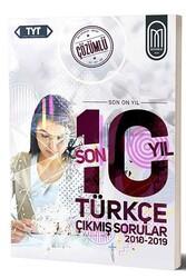 MEG Yayınları - MEG Yayınları TYT Türkçe Son 10 Yıl Çözümlü Çıkmış Sorular