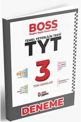Metin Yayınları - Metin Yayınları TYT Tüm Dersler BOSS 3 Deneme