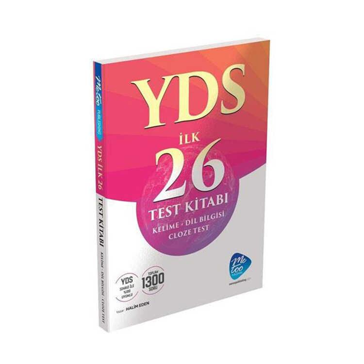MeToo Publishing YDS Cloze Test İlk 26 Test Kitabı