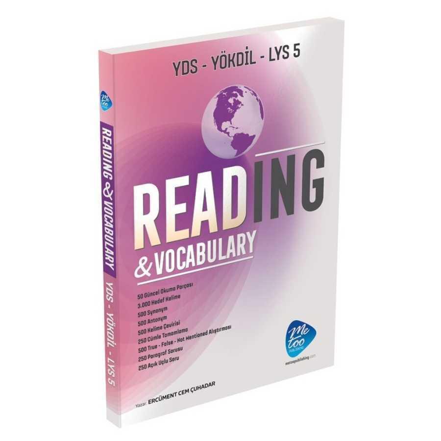 MeToo Publishing YDS Reading Vocabulary
