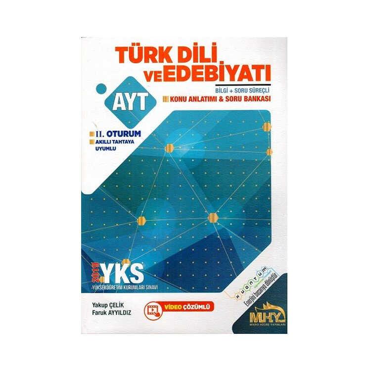 Mikro Hücre Yayınları AYT Kuantum Türk Dili ve Edebiyatı Konu Anlatımlı Soru Bankası