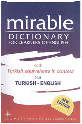 Mira Yayıncılık - Mira Yayıncılık Mirable Dictionary For Learners of English