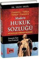 Yargı Yayınları - Modern Hukuk Sözlüğü - Fransızca Türkçe - Türkçe Fransızca