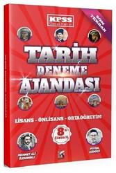 Modus Yayınları - Modus KPSS Tarih Deneme Ajandası Çözümlü 8 Deneme