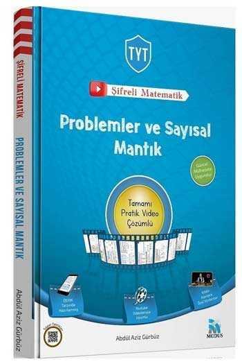 Modus Yayınları TYT Şifreli Matematik Problemler ve Sayısal Mantık Video Çözümlü