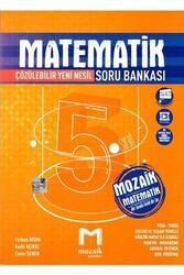 Mozaik Yayınları - Mozaik Yayınları 5. Sınıf Matematik Soru Bankası