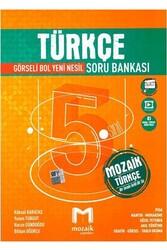 Mozaik Yayınları - Mozaik Yayınları 5. Sınıf Türkçe Soru Bankası