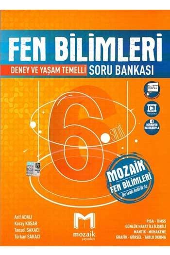 Mozaik Yayınları 6. Sınıf Fen Bilimleri Soru Bankası