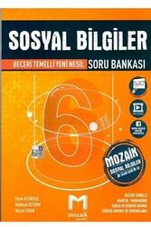 Mozaik Yayınları - Mozaik Yayınları 6. Sınıf Sosyal Bilgiler Soru Bankası