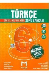 Mozaik Yayınları - Mozaik Yayınları 6. Sınıf Türkçe Soru Bankası