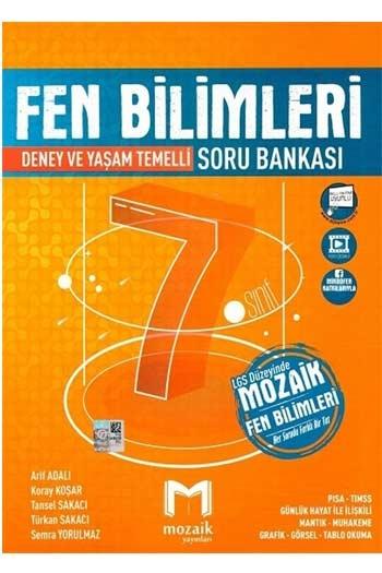 Mozaik Yayınları 7. Sınıf Fen Bilimleri Soru Bankası