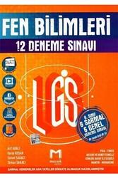 Mozaik Yayınları - Mozaik Yayınları 8. Sınıf LGS Fen Bilimleri 12 Deneme Sınavı