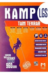 Mozaik Yayınları - Mozaik Yayınları 8. Sınıf LGS Kamp Tam Tekrar
