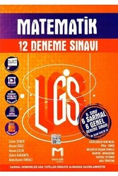 Mozaik Yayınları - Mozaik Yayınları 8. Sınıf LGS Matematik 12 Deneme Sınavı