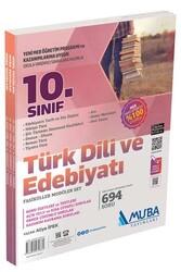 Muba Yayınları - Muba Yayınları 10. Sınıf Türk Dili ve Edebiyatı Fasiküller Modüler Set