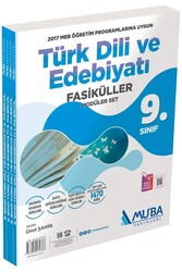Muba Yayınları - Muba Yayınları 9. Sınıf Türk Dili ve Edebiyatı Fasiküller Modüler Set