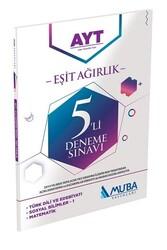 Muba Yayınları - Muba Yayınları AYT Eşit Ağırlık 5'li Deneme Sınavı