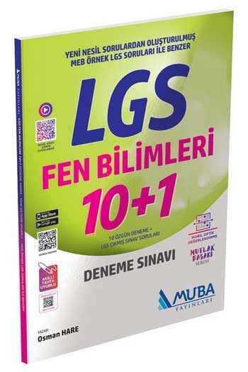 Muba Yayınları LGS Fen Bilimleri 10+1 Deneme Sınavı